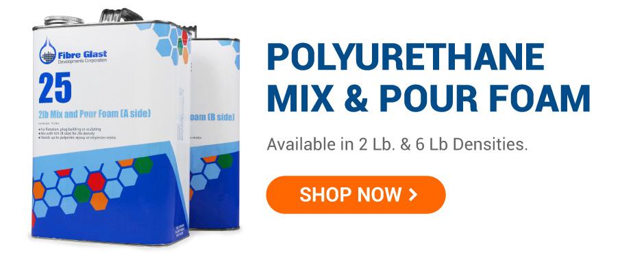 Polyurethane Mix & Pour Foam