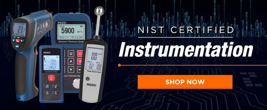 NIST Certified Instrumentation