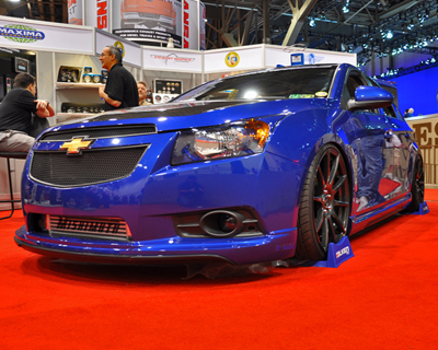 Chevy Cruze at SEMA 2011