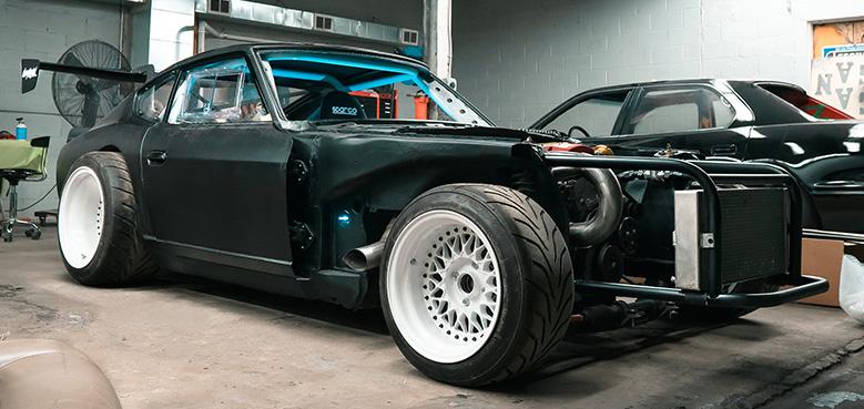 Street Bandito' Full Carbon Fiber - Datsun 240z