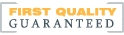 Fibre Glast First Quality Guaranteed Logo