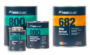 ChromaGlast Paint vs  Gel Coat   Fibre Glast