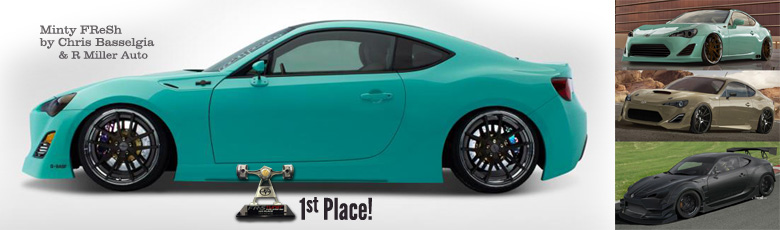 Scion FR-S Header Image