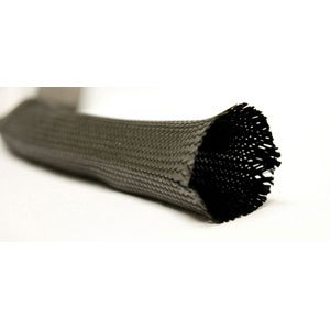 Braided Carbon Fiber Biaxial Sleeve - Clearance