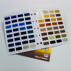ChromaGlast Color Book