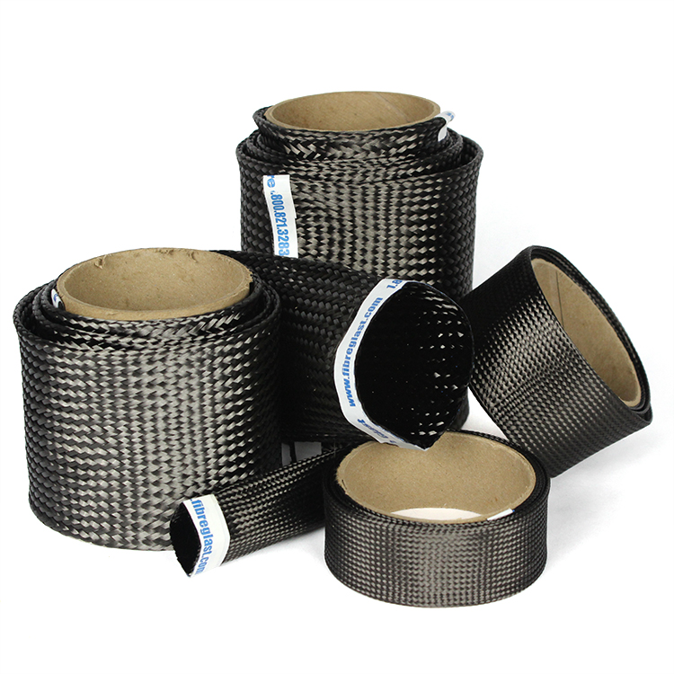 Carbon Fiber Tapes, Tow, & Sleeves