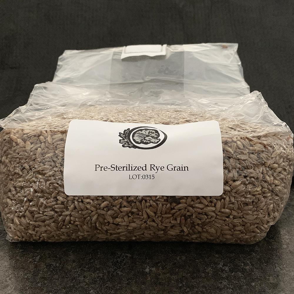 Sterilized Grain Substrate