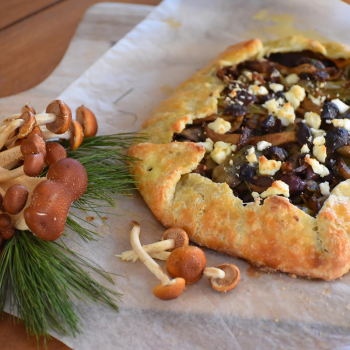 Chestnut and Artichoke Galette