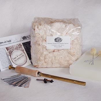 Shiitake Sawdust Spawn Starter Kits