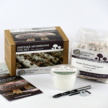 Shiitake Mushroom Log Grow Kits