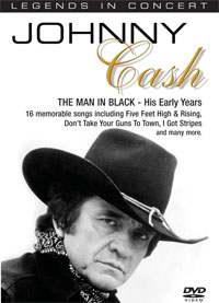 LEGENDS IN CONCERT: JOHNNY CASH VOL. 2