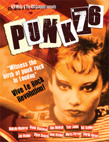 PUNK '76: THE BIRTH OF ANARCHY