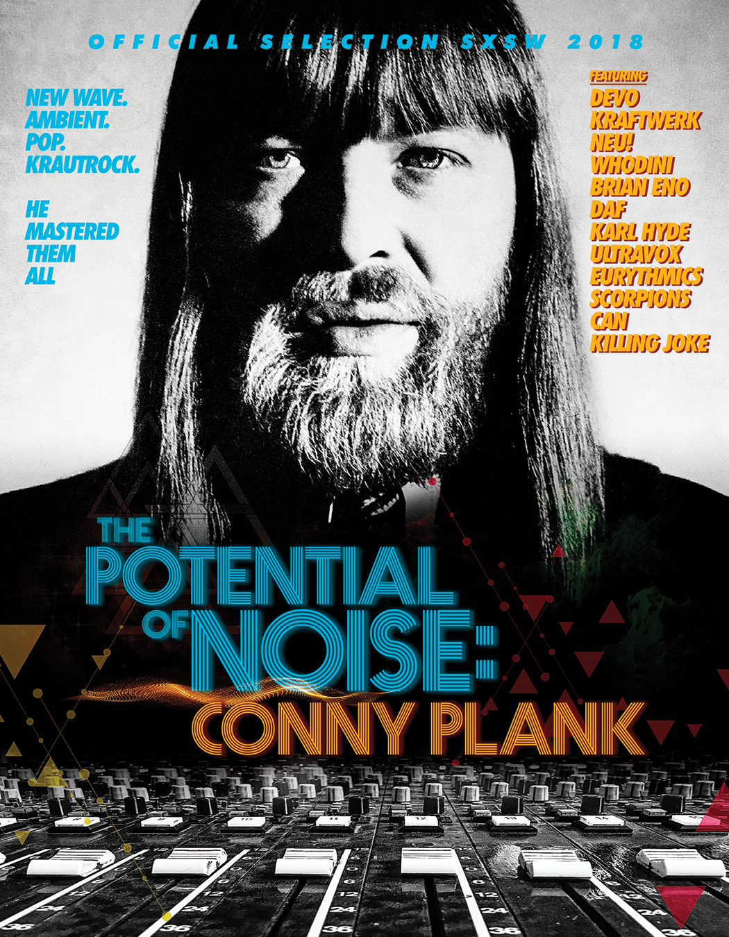 CONNY PLANK - THE POTENTIAL OF NOISE