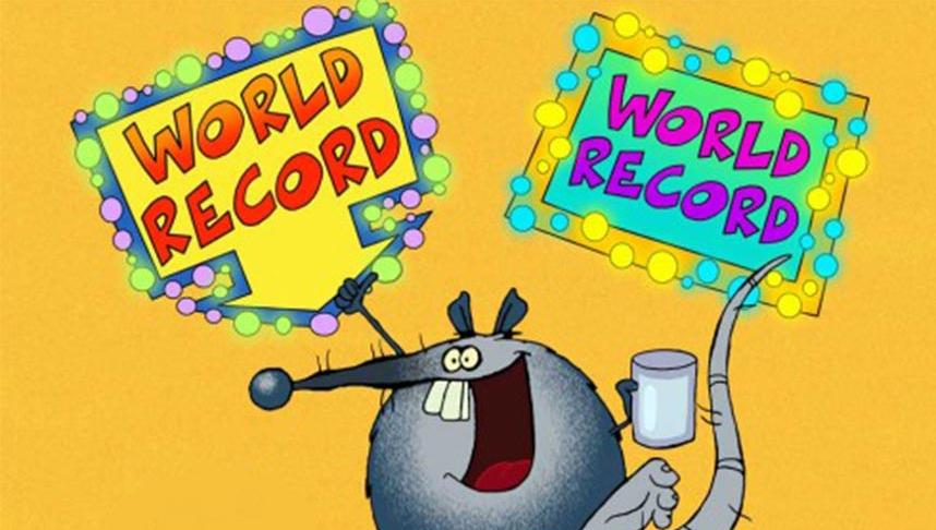RALF THE RECORD RAT (104X1')