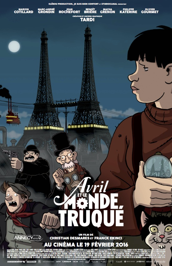 Avril et le Monde Truqué