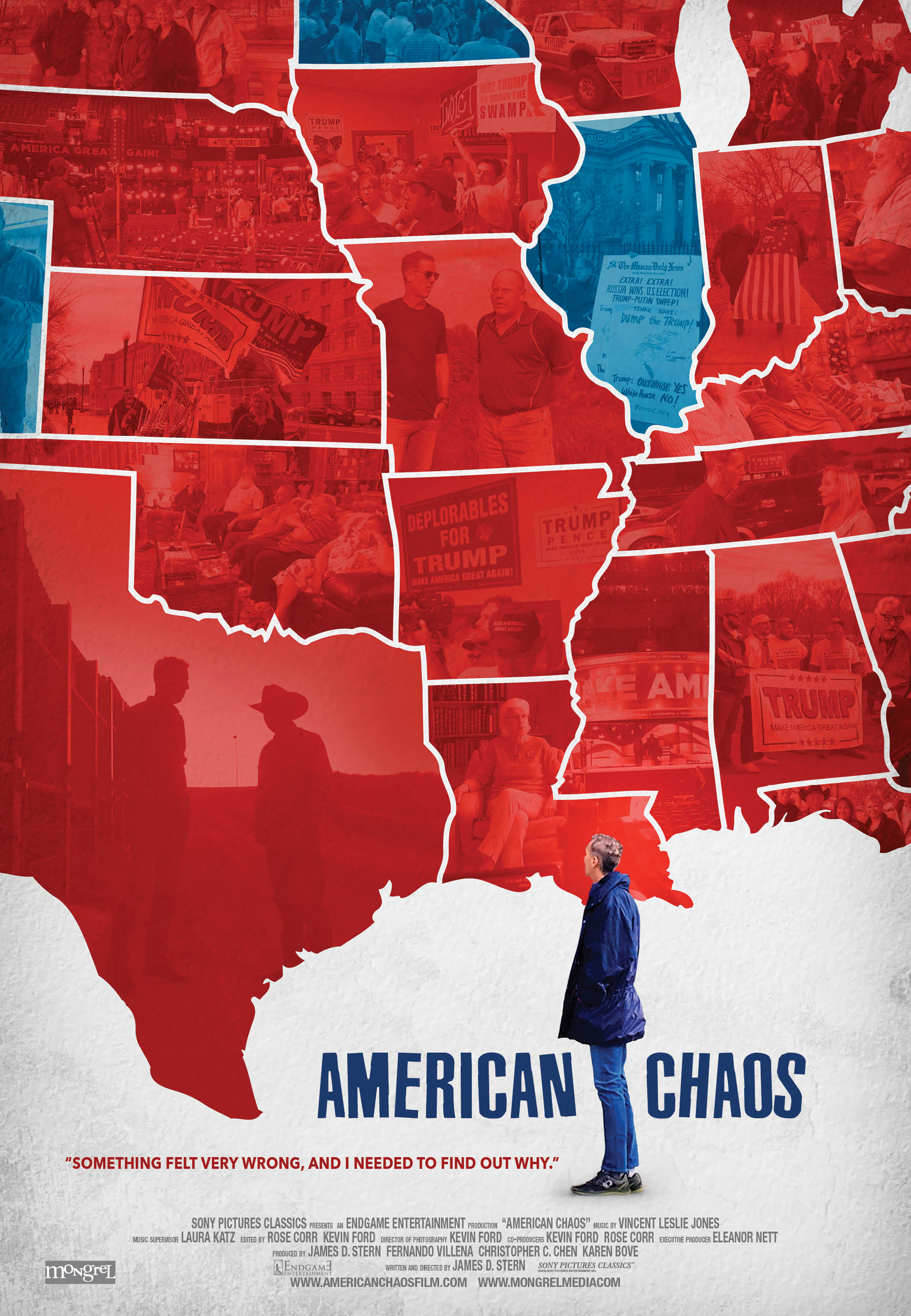 American Chaos For Six Months Before The Election, Director Jim Stern  Traveled Red States Asking About Donald Trumpu0027s Appeal, And Why Voters Were  Untroubled ...