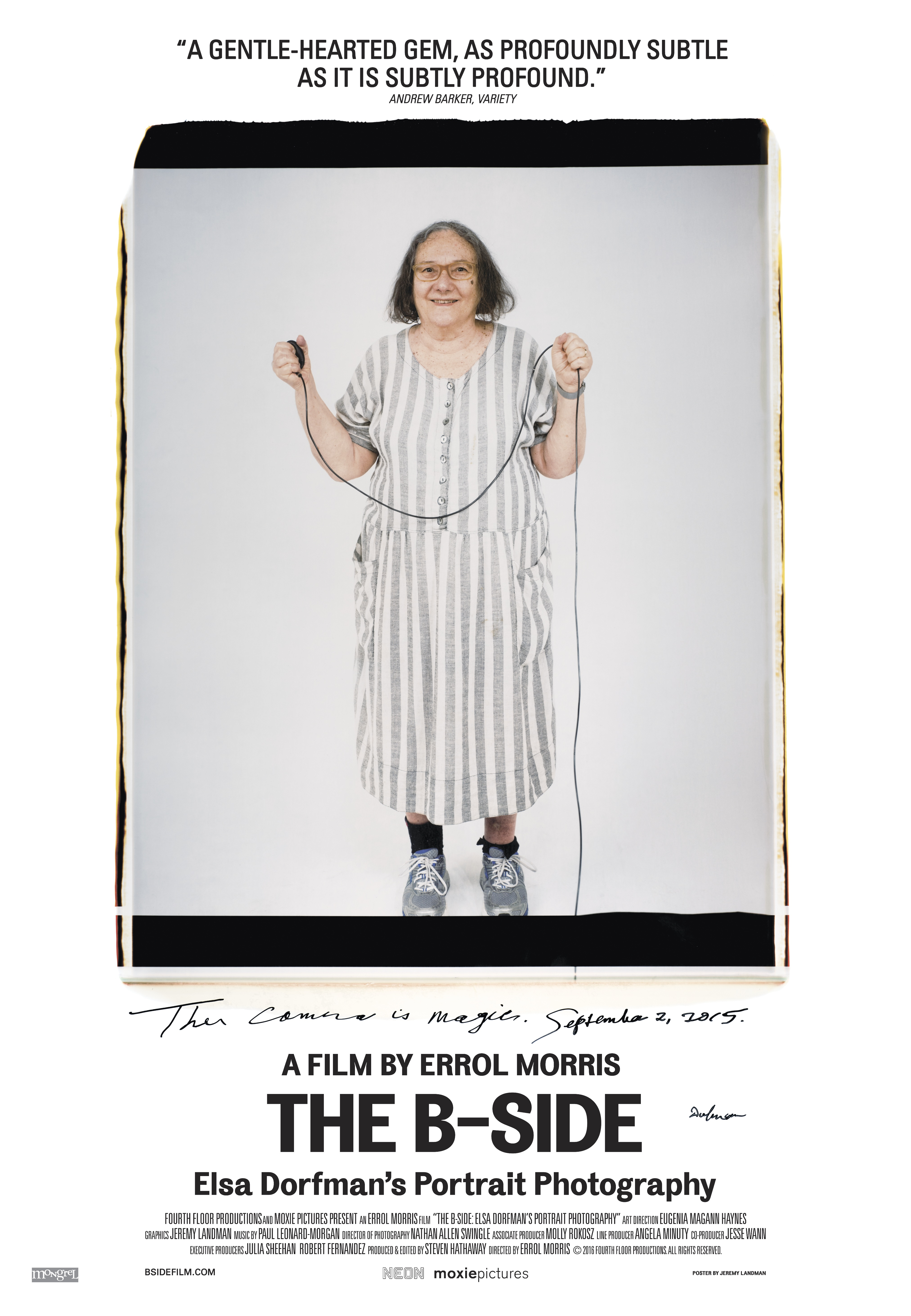 B-Side, The: Elsa Dorfman's Portrait Photography
