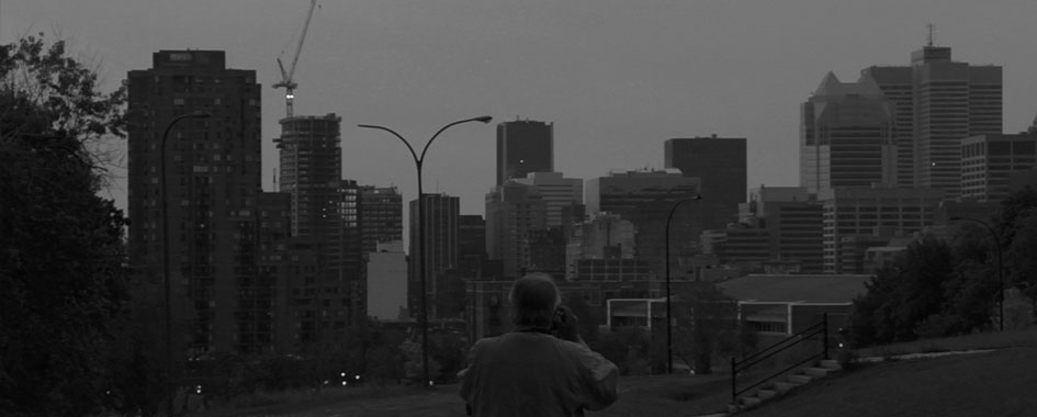 Nuages sur la ville