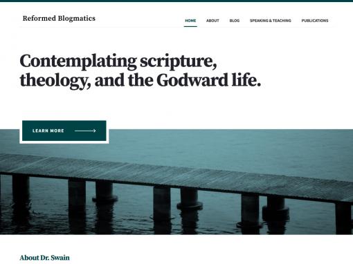 Reformed Blogmatics