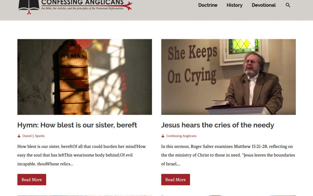 Confessing Anglicans