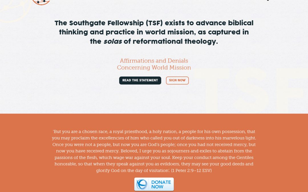 The Southgate Fellowship