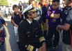 The Surgeon General visiting with schoolchildren.