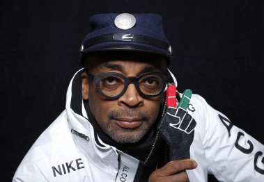 "Filmmaker Spike Lee poses for a portrait to promote the series, ""Off the Wall"", at the Toyota Mirai Music Lodge during the Sundance Film Festival on Saturday, Jan. 23, 2016 in Park City, Utah. (Photo by Matt Sayles/Invision/AP)"
