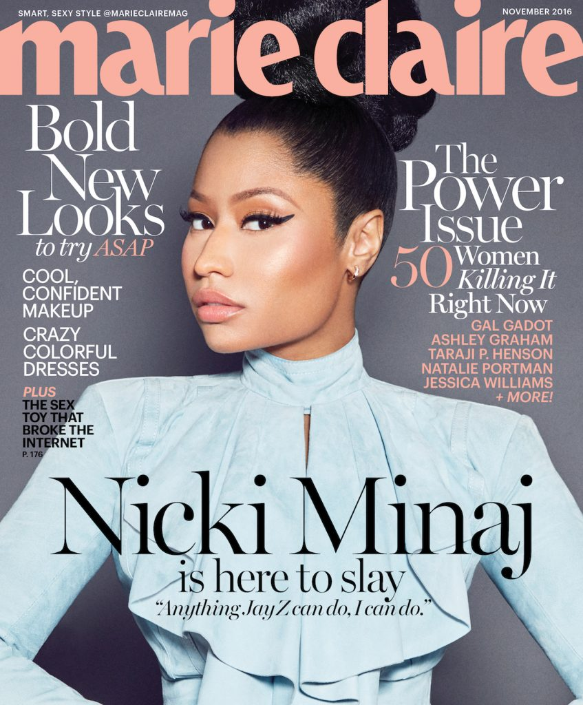 Marie Claire's November 2016 issue