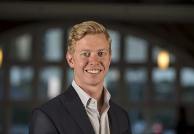 Steve Huffman, co-founder and chief executive officer of Reddit Inc., stands for a photograph after a Bloomberg Technology television interview in San Francisco, California, U.S., on Wednesday, Nov. 9, 2016. Huffman discussed social media's impact on the U.S. election. Photographer: David Paul Morris/Bloomberg via Getty Images