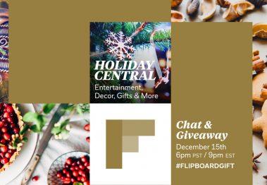 Flipboard Holiday Central #FlipboardGift Twitter Chat