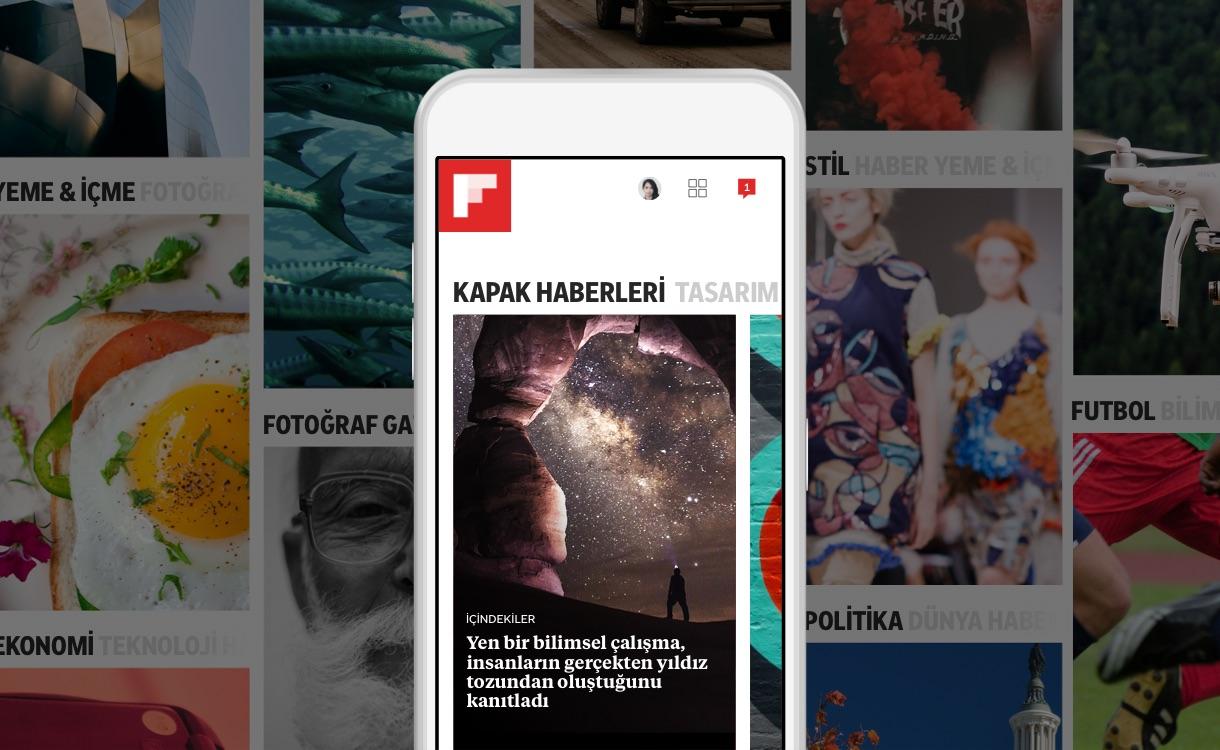 Flipboard'un Yeni Sürümü, İlgilendiğin Şeyler Etrafında Tasarlandı