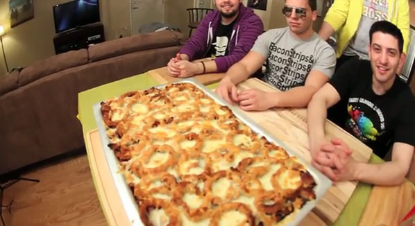 Epic meal time breakfast lasagna