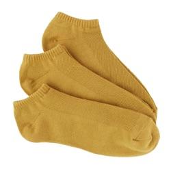 Mustard Men's Bamboo No-Show Socks 3-Pack