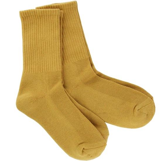 Mustard Men's Bamboo Crew Socks 2- Pack