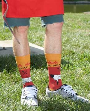 Foot Traffic Grilling Socks