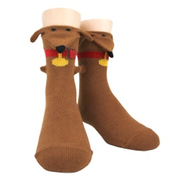 Youth Dachsund 3-D Sock