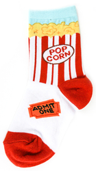 Kids Popcorn Socks