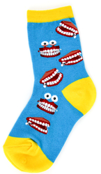 Youth Chatty Teeth Socks