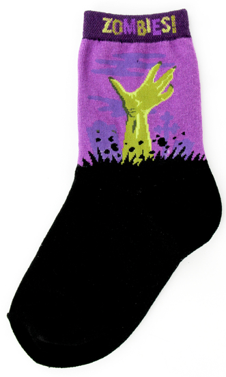 Youth Zombie Socks