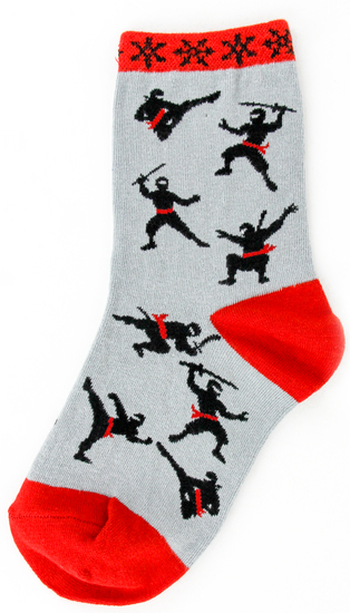 Kids Ninja Socks