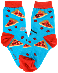 Youth Pizza Slice Socks
