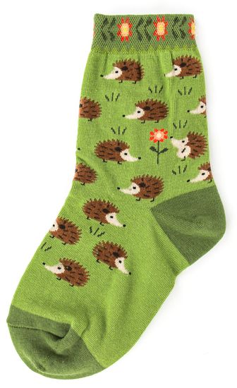 Youth Hedgehog Socks