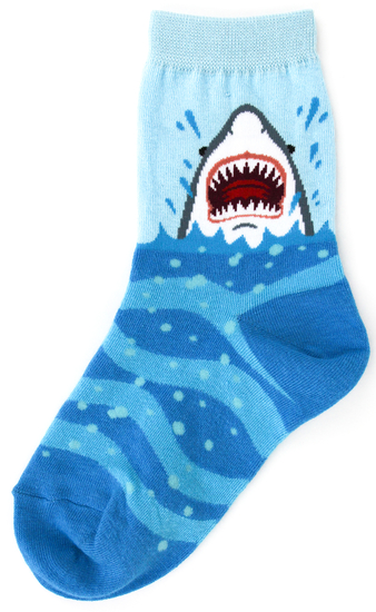 Youth Shark Socks