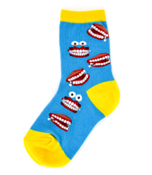 Kids Chatty Teeth Socks