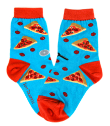 Kids Pizza Slice Socks
