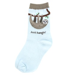 Youth Sloth Socks