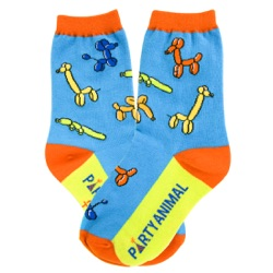 Youth Party Animal Socks