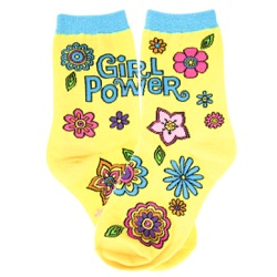 Youth Girl Power Socks