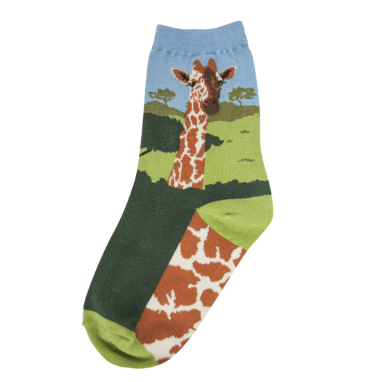 Youth Giraffe Socks