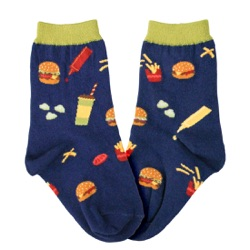 Kids' Burgers Socks